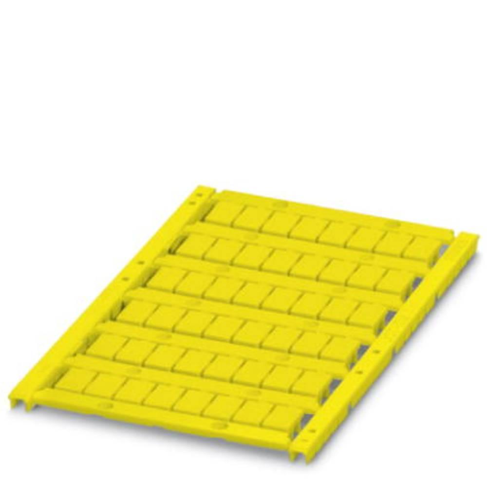 UCT-TM 7,62 YE - Marker for rækkeklemmer UCT-TM 7,62 YE Phoenix Contact Indhold: 10 stk