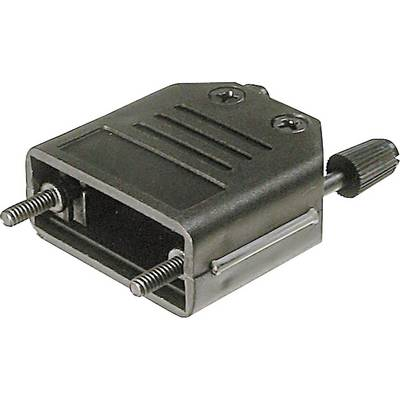 Image of ASSMANN WSW A-FT 37 D-SUB housing Number of pins: 37 Plastic 180 ° Black 1 pc(s)