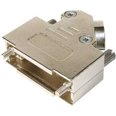 Image of ASSMANN WSW AMET-37 RS-45 D-SUB housing Number of pins: 37 Metal 45 ° Silver 1 pc(s)