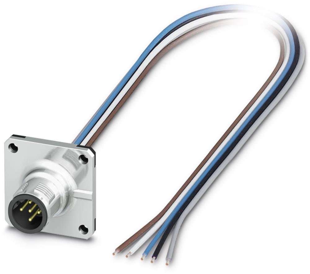 SACC-SQ-M12MSB-5CON-20/0,5 - vgradni vtični konektor, SACC-SQ-M12MSB-5CON-20/0,5 Phoenix Contact vsebuje: 1 kos