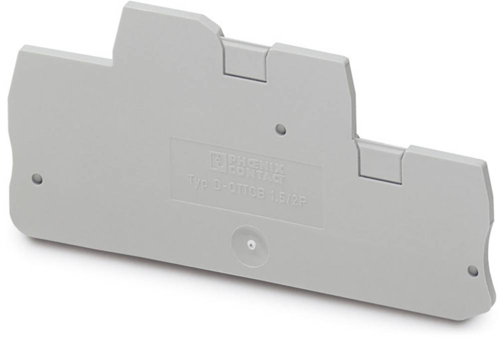 D-QTTCB 1.5 / 2P - endedæksel D-QTTCB 1,5/2P Phoenix Contact Indhold: 50 stk