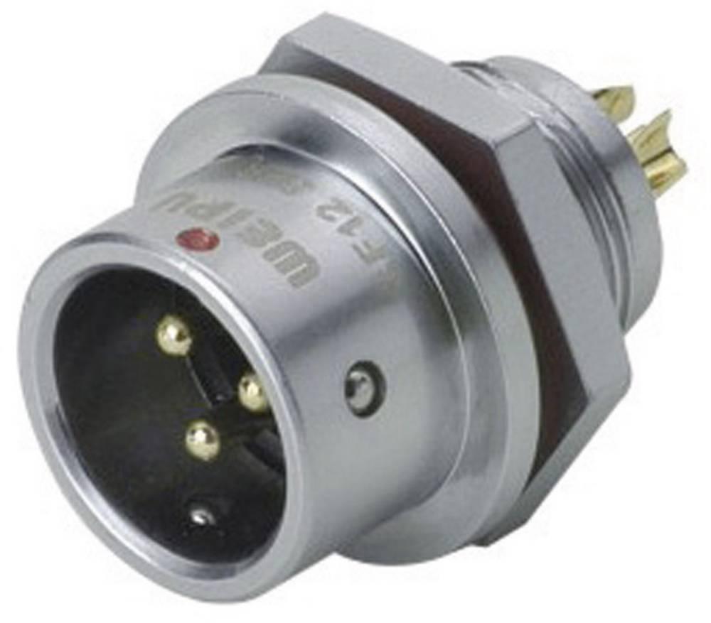 Okrogli konektor za hitro ločevanje Weipu SF1212/P6, IP67, nazivni tok: 5 A, poli: 6