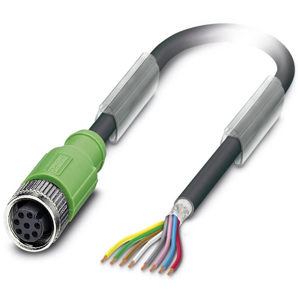Sensor-, aktuator-stik, Phoenix Contact SAC-8P- 1,5-PUR/M12FS SH 1 stk