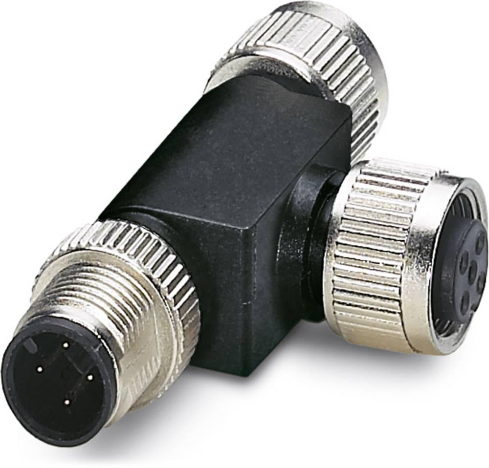 SAC-M12T/2XM12 CAN - T-razdelilnik za bus sistem SAC-M12T/2XM12 CAN Phoenix Contact vsebuje: 1 kos
