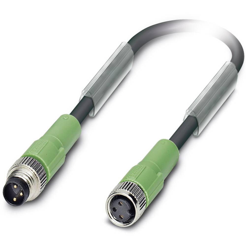 Sensor-, aktuator-stik, Phoenix Contact SAC-3P-M 8MS/10,0-PUR/M 8FS 1 stk