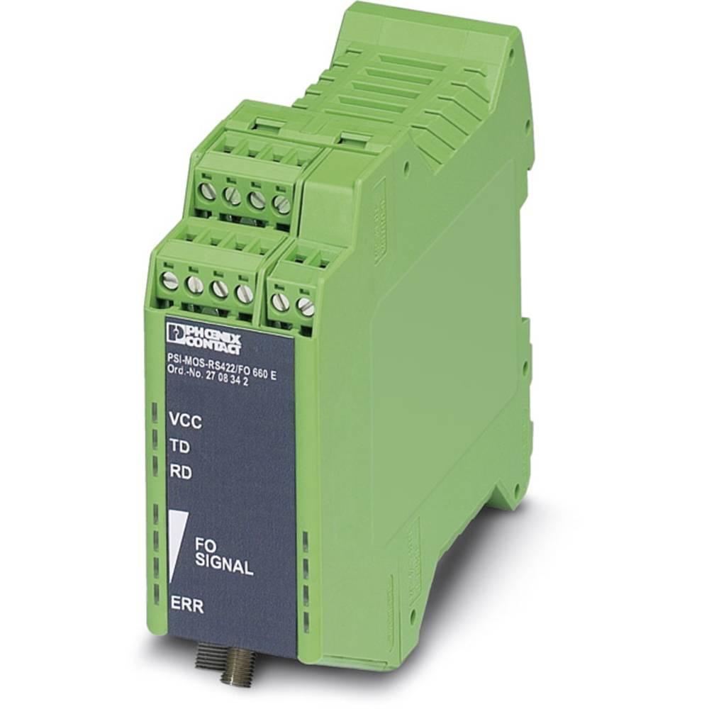 Pretvornik za optiko Phoenix Contact PSI-MOS-RS422/FO 660 E Pretvornik za optiko