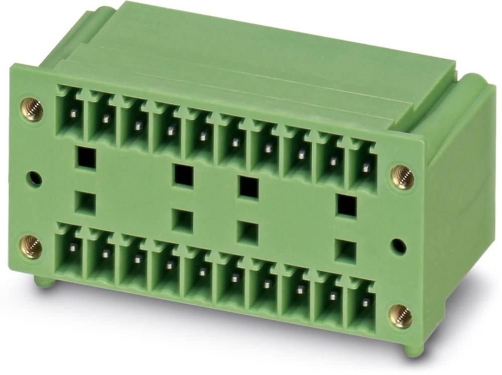 Pinsko ohišje za tiskano vezje MCD Phoenix Contact 1843033 raster: 3.81 mm 50 kosov