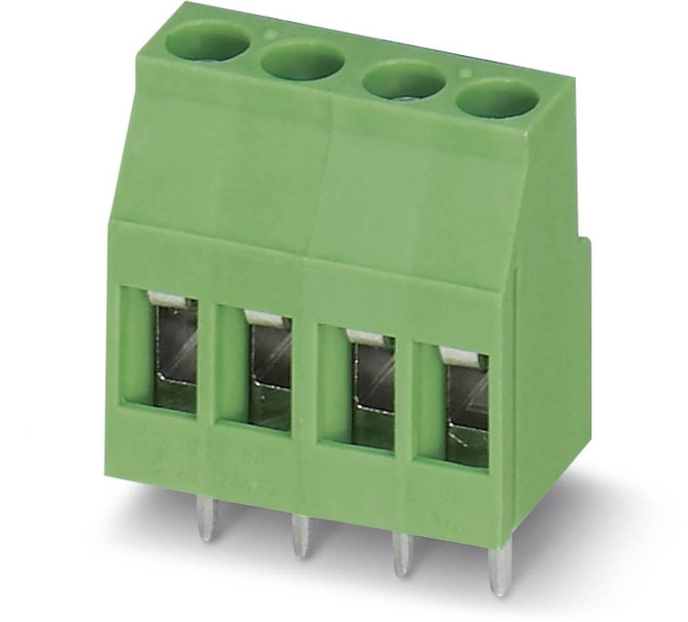 Skrueklemmeblok Phoenix Contact MKDS 3/ 2 BEIGE PIN3,5(VE1000) 2.50 mm² Poltal 2 1000 stk