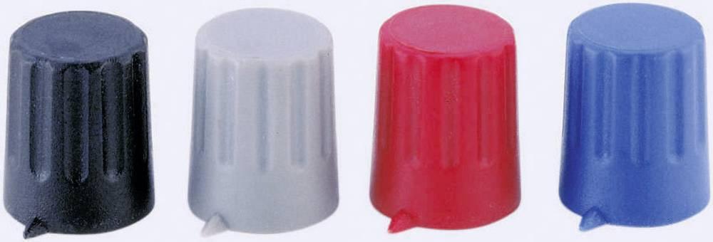 Strapubox gumb sa indikatoromKNOPF 12/6 mm BLAU Siva promjerosi 6 mm