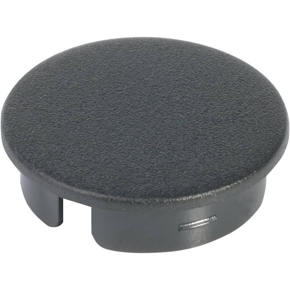 OKW Poklopac za okrugli gumb promjera 40 mm crna