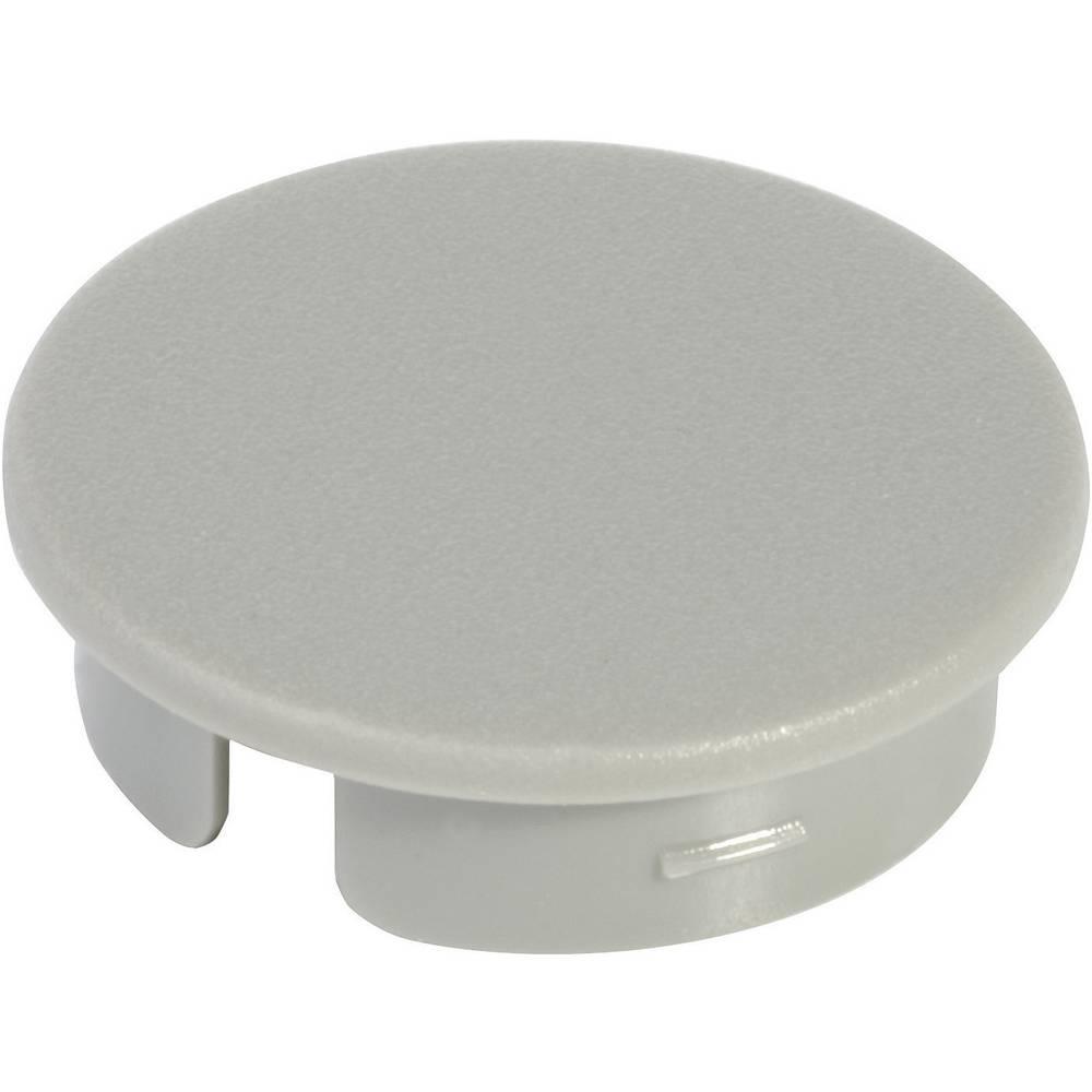 OKW Poklopac za okrugli gumb promjera 16 mm Siva