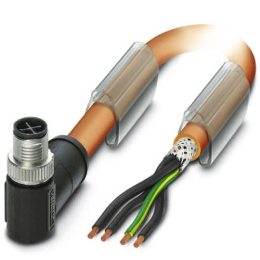 Sensor- /aktor-tilslutningsledning Phoenix Contact SAC-4P-MRS/ 5,0-PUR PE SH SCO 1 stk