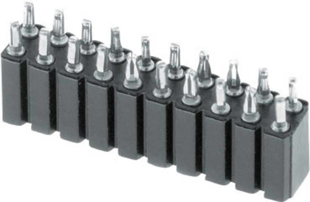 Bøsningsliste (præcision) W & P Products 153PF-006-2-50-00 1 stk