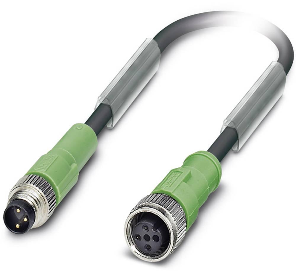 Sensor-, aktuator-stik, Phoenix Contact SAC-3P-M 8MS/0,6-PUR/M12FS 1 stk