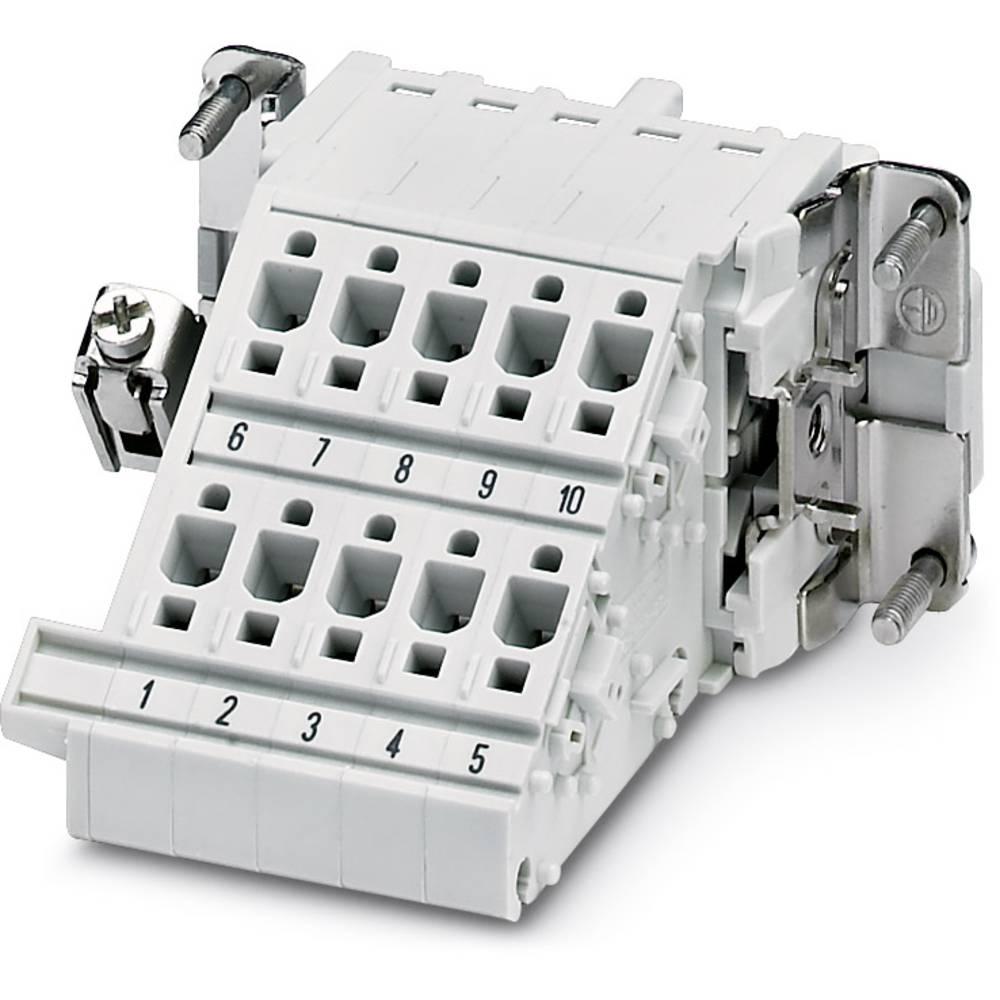 HC-KA-D40 / 12-BU UDEN PE METAL - kontakt insert Phoenix Contact HC-KA-D40/12-BU OHNE PE-METALL 5 stk
