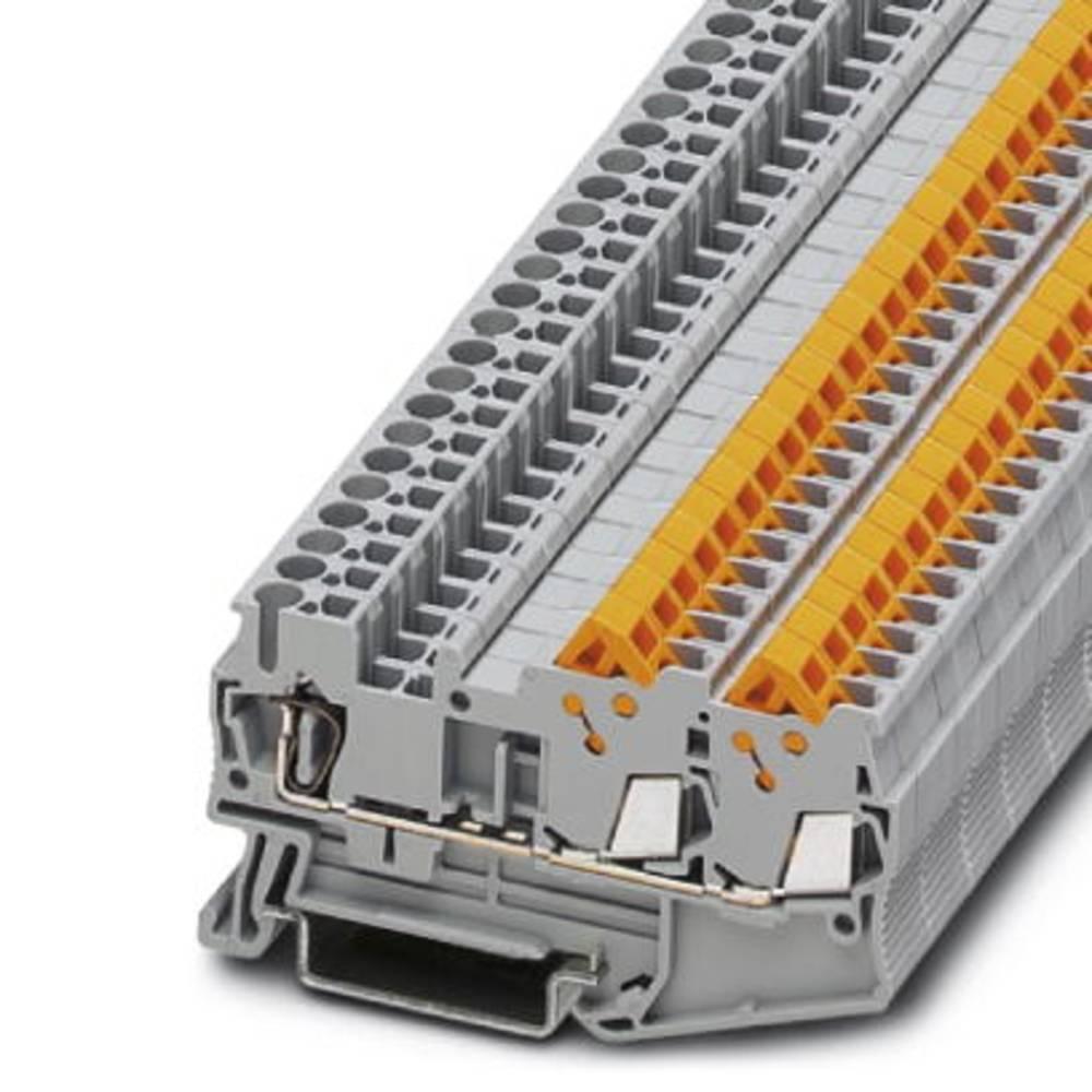 QTC 1,5-TWIN - gennem terminal Phoenix Contact QTCS 1,5-TWIN Grå 50 stk