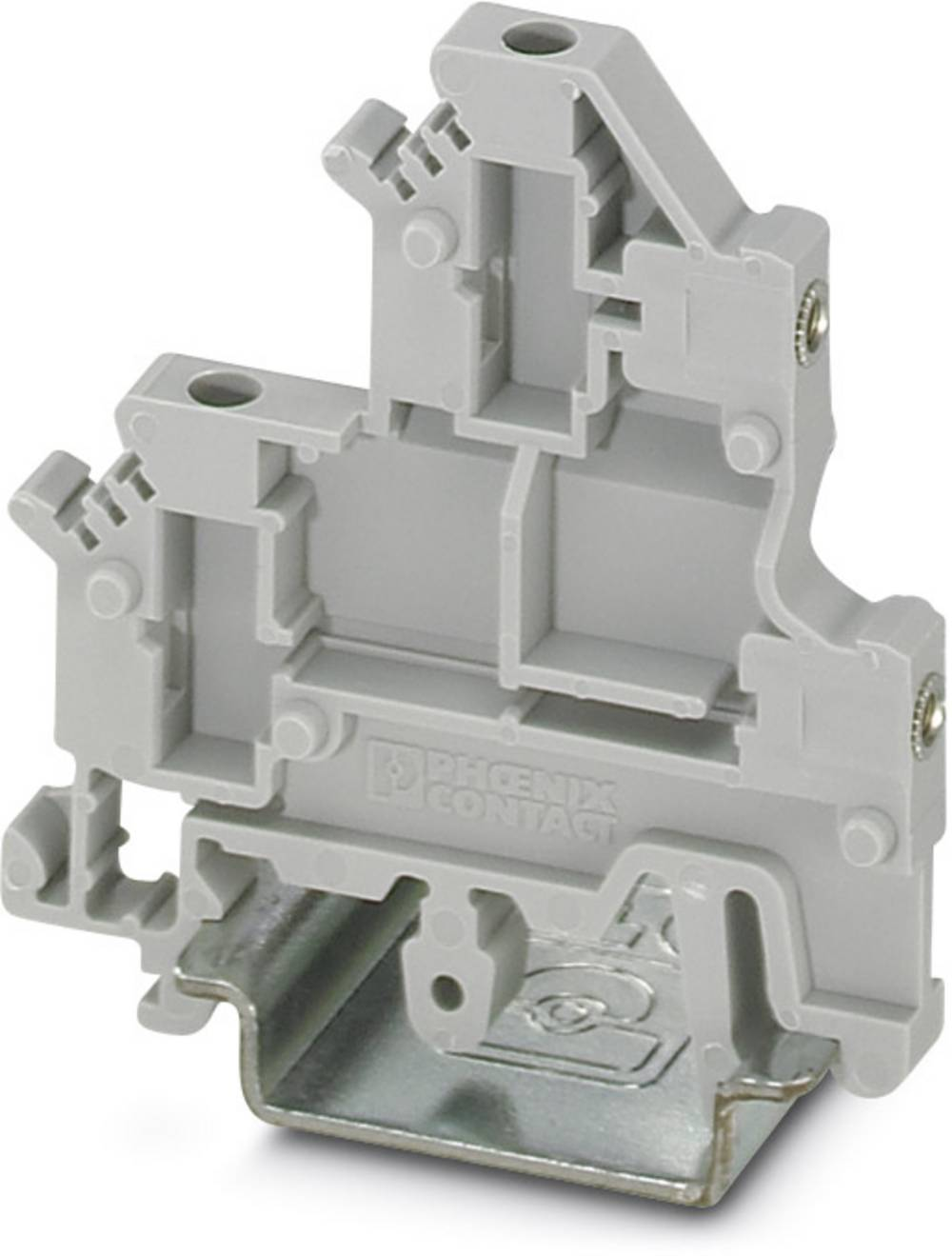 Double-level flange terminal block UKK 3-MSTB-5,08-F Phoenix Contact UKK 3-MSTB-5,08-F Grå 50 stk