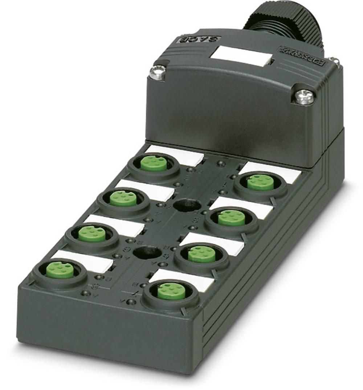 Sensor/aktorbox passiv M12-fordeler med kunststofgevind SACB-8/16-SC SCO P 1452974 Phoenix Contact 1 stk