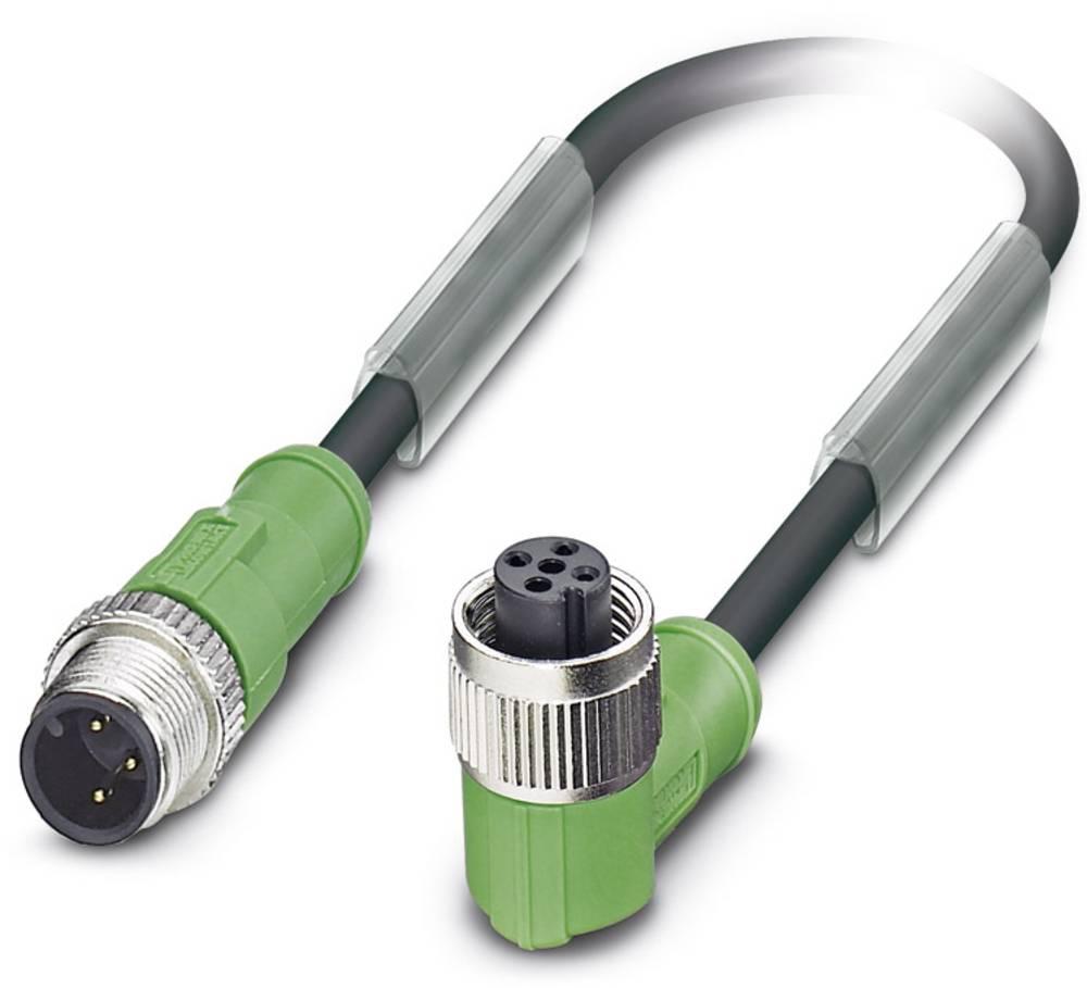 Sensor-, aktuator-stik, Phoenix Contact SAC-3P-M12MS/ 0,6-170/M12FR 1 stk