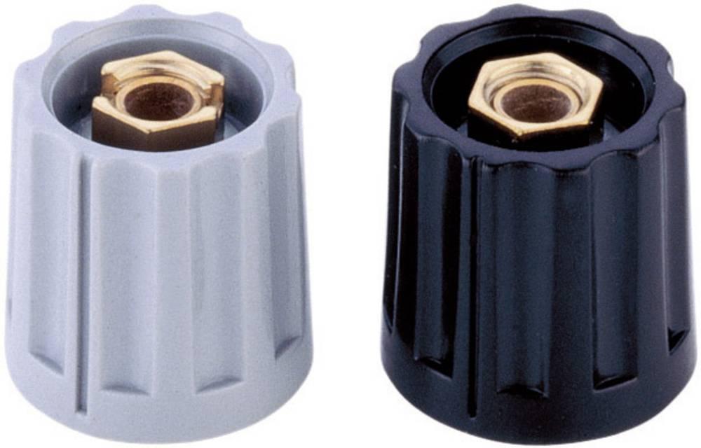 Mentor Gumb s čahurom za zatezanje serija 11,5 KNOEPFE crnapromjer osi 6mm 331.6