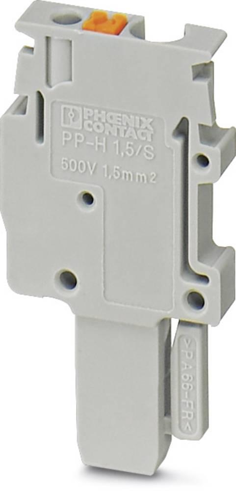 PP-H 1,5 / S / 1-L - stik Phoenix Contact PP-H 1,5/S/1-L Grå 50 stk