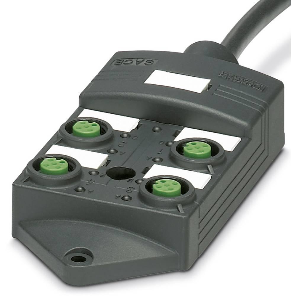 SACB-4/ 4-L- 5,0PUR SCO P - škatla za senzorje/aktuatorje SACB-4/ 4-L- 5,0PUR SCO P Phoenix Contact vsebuje: 1 kos