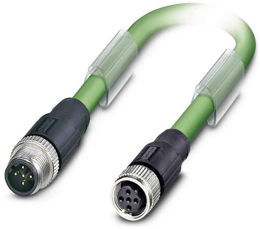 Sensor- /aktor- -datastikforbindelse, konfektioneret Phoenix Contact SAC-5P-M12MSB/ 0,3-900/M12FSB 1 stk