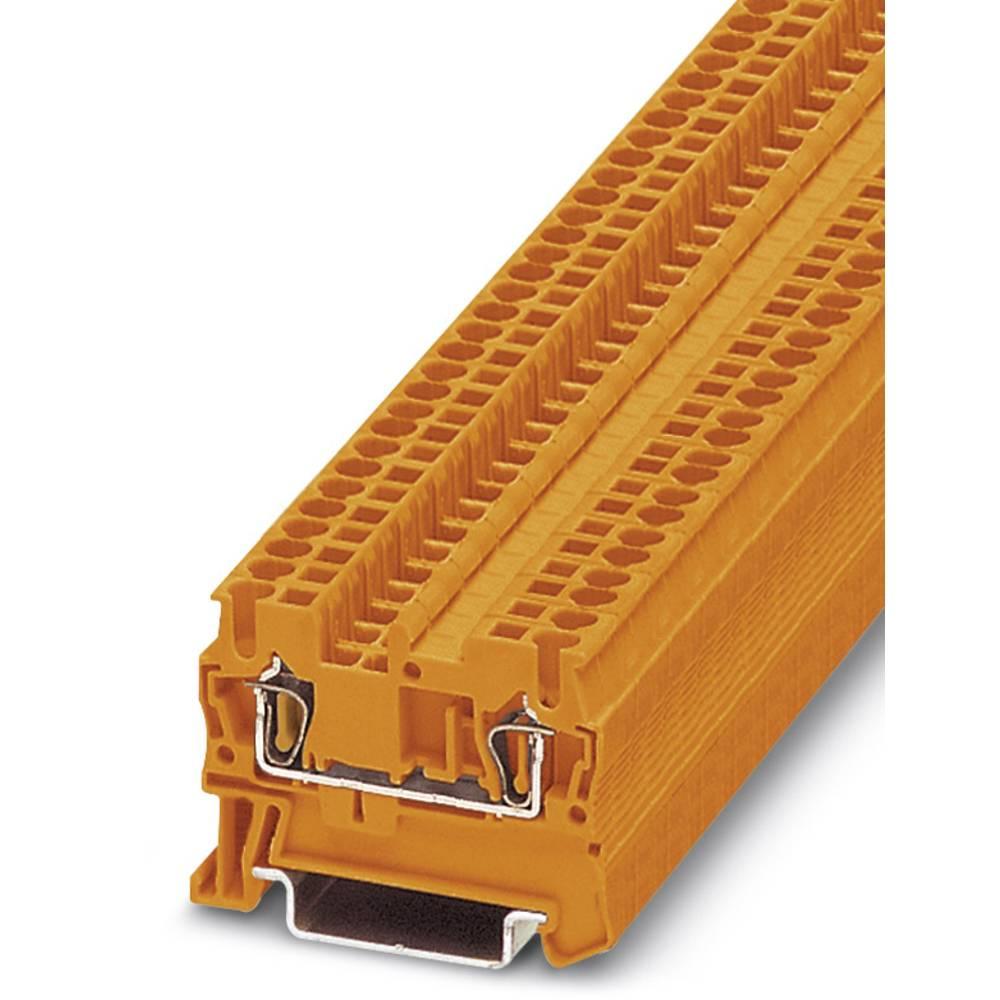ST 2,5 OG - gennem terminal Phoenix Contact ST 2,5 OG Orange 50 stk