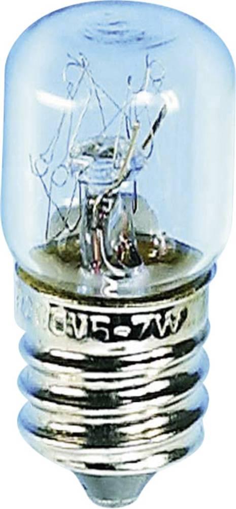 Cijevasta žarulja 220 - 260 V 5 - 7 W 026 mA podnožje=E14 čista Barthelme sadržaj: 1 kom.