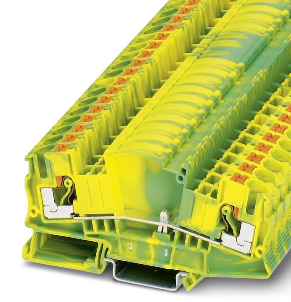 PTMED 6-PE - beskyttelsesleder klemrække Phoenix Contact PTMED 6-PE Grøn-gul 50 stk