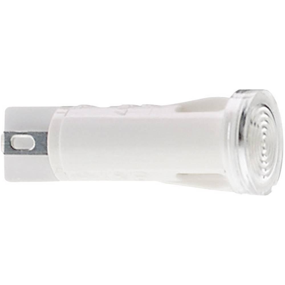 Signalno svjetlo sa lampom, maks. 28 V 1.2 W crvena (prozirna) RAFI sadržaj: 1 kom.