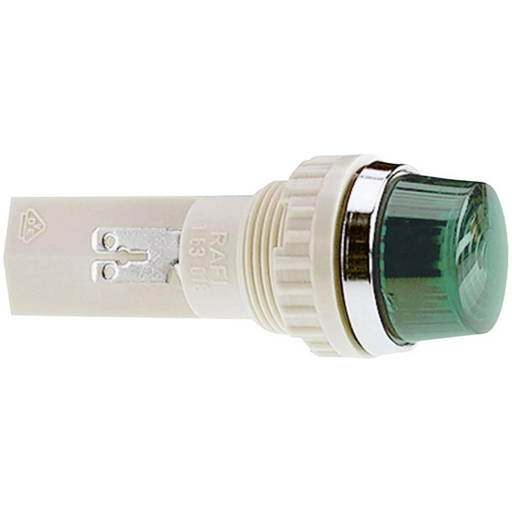 Signalna luč s podnožjem za žarnico, maks. 250 V 2 W podnožje=BA9s RAFI vsebina: 1 kos