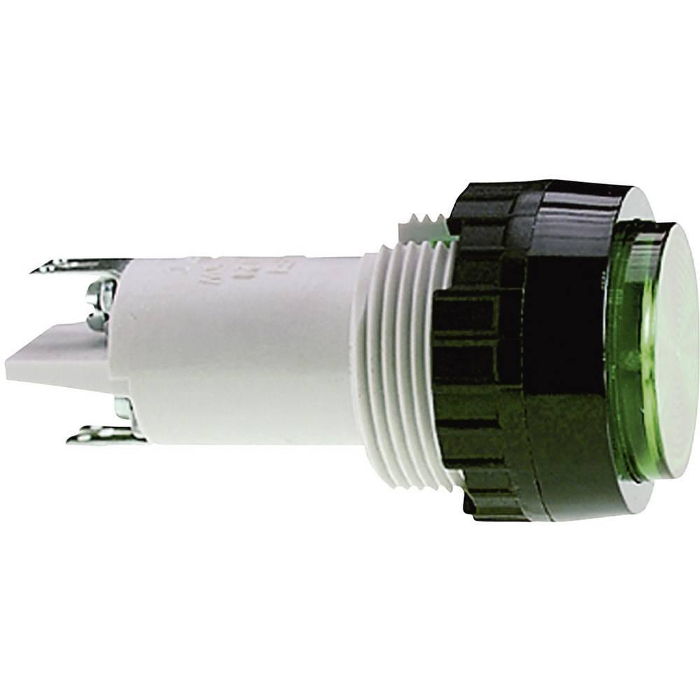 Signalna luč s podnožjem za žarnico, maks. 250 V 5 W podnožje=E14 RAFI vsebina: 1 kos