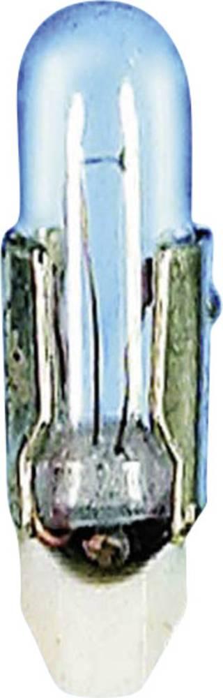 Telefonska žarnica z vtičnim podnožjem 24 V 0.5 W 20 mA podnožje=T4.5 prozorna Barthelme vsebina: 1 kos