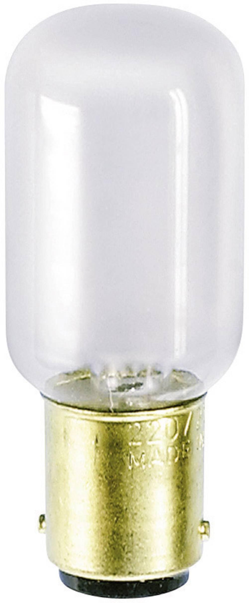 Cevasta žarnica za šivalni stroj 235 V 20 W 85 mA podnožje=BA15d mat Barthelme vsebina: 1 kos