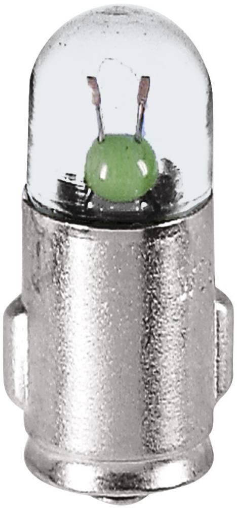 Kontrolna žarnica 12 V 1.2 W 100 mA podnožje=BA7s prozorna Barthelme vsebina: 1 kos
