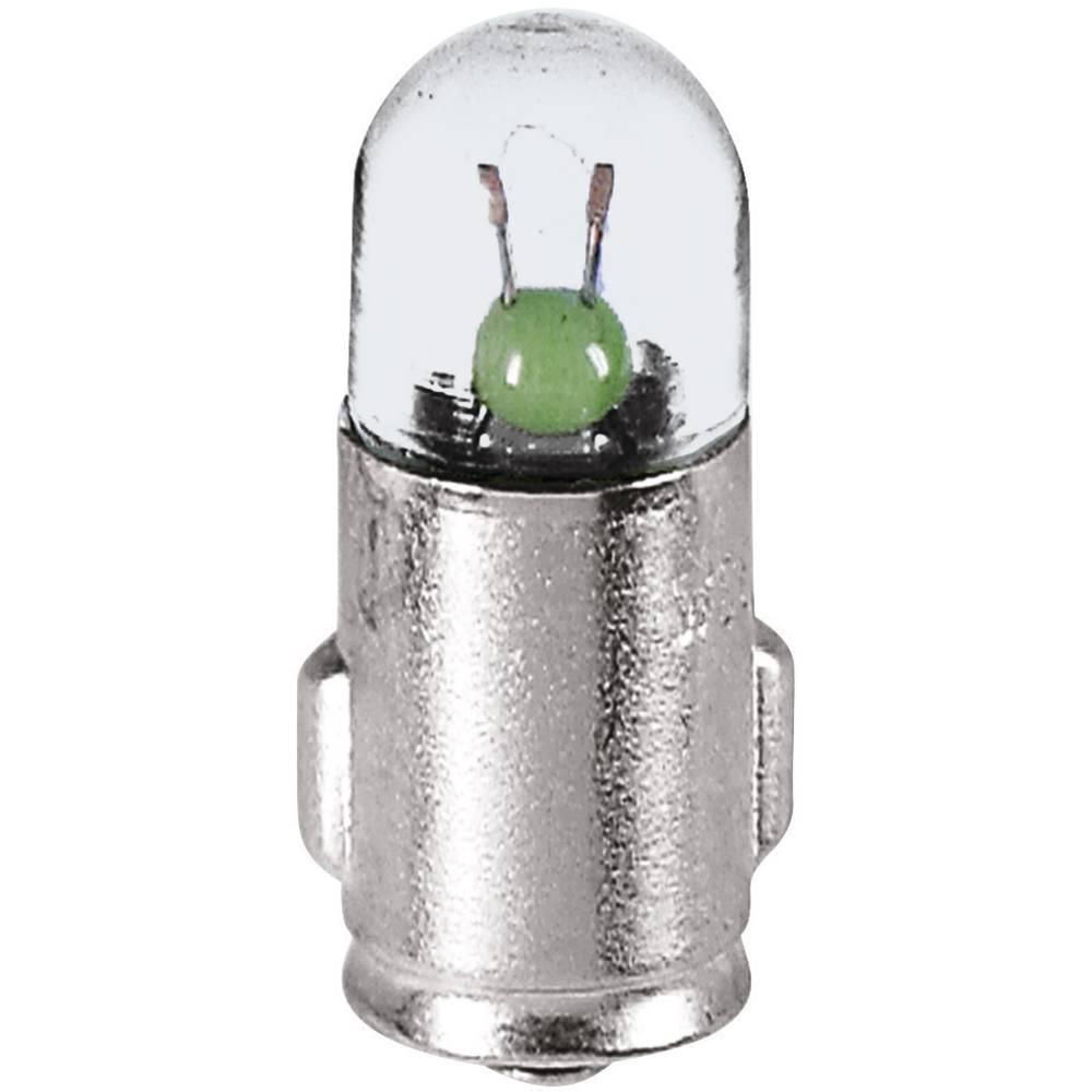 Kontrolna žarnica 6 V 1.2 W 200 mA podnožje=BA7s prozorna Barthelme vsebina: 1 kos