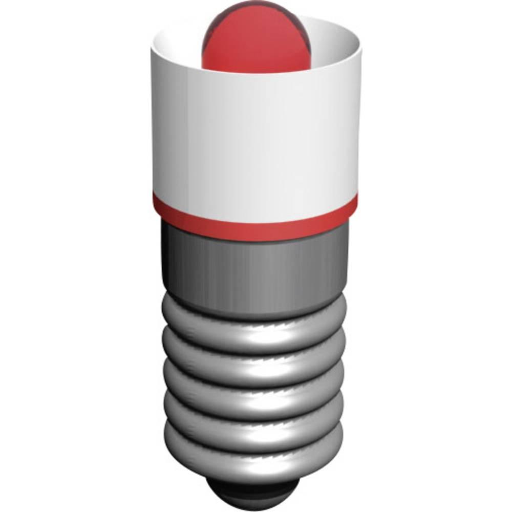 LED žarnica E5.5 rdeča 18 V/AC Signal Construct MEDE5503