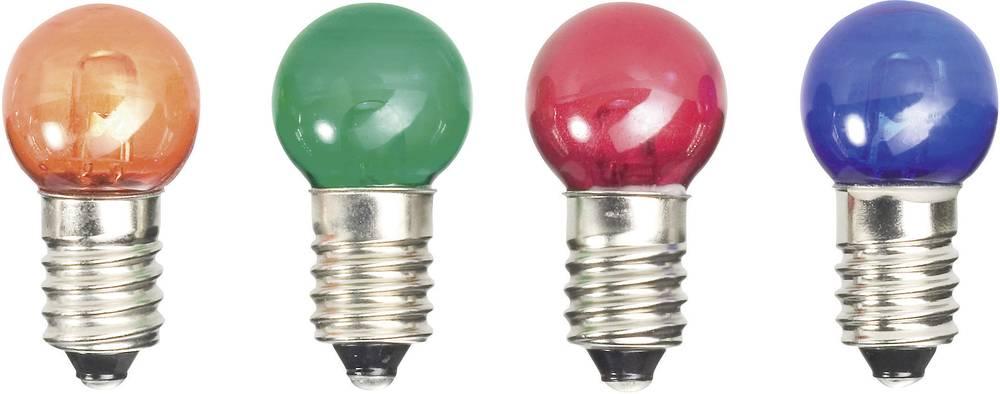 LED žarnica E10 modra 12 V/DC 52221214