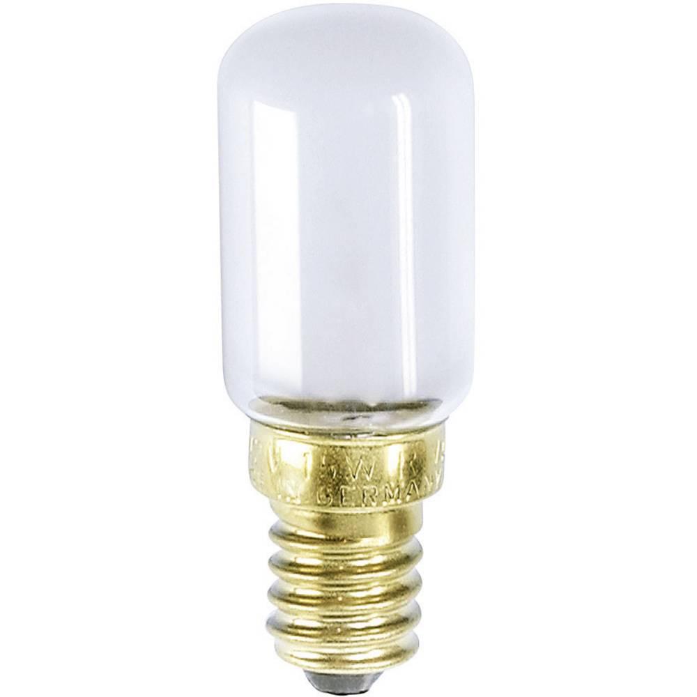 Cevasta žarnica za šivalni stroj 235 V 15 W 63 mA podnožje=E14 mat Barthelme vsebina: 1 kos