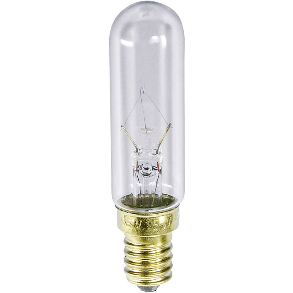 Cevasta žarnica 220 - 260 V 25 W 96 - 113 mA podnožje=E14 prozorna Barthelme vsebina: 1 kos