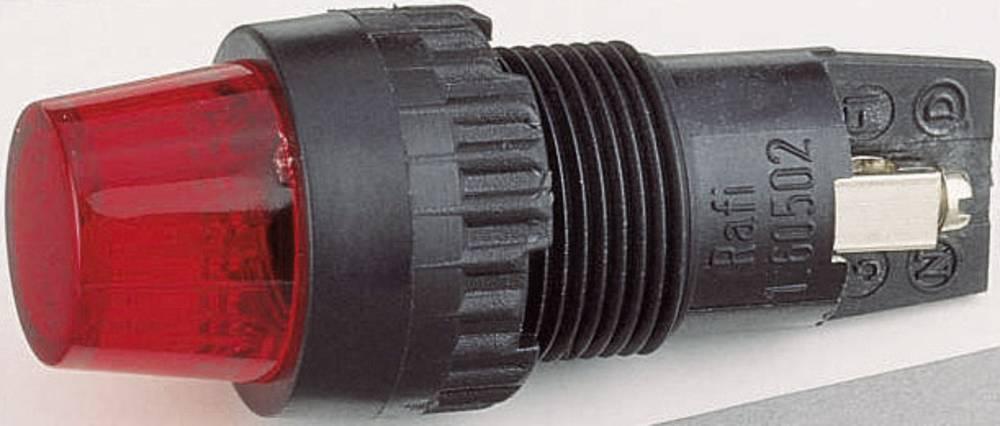 Signalna svjetiljka s podnožjem za žarulju, maks. 250 V 2 W podnožje=E10 zelena (prozirna) RAFI sadržaj: 1 kom.