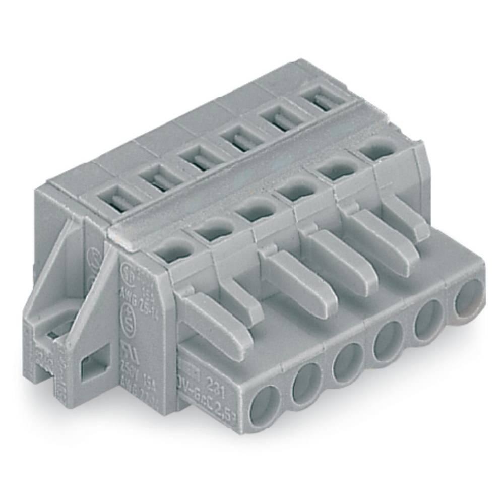 Tilslutningskabinet-kabel 231 Samlet antal poler 23 WAGO 231-123/027-000 Rastermål: 5 mm 10 stk
