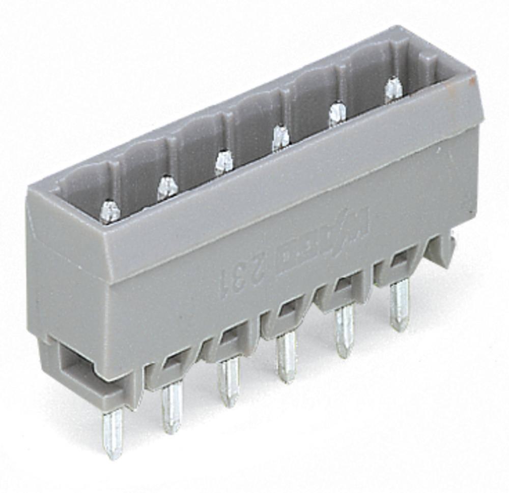 Pinski konektor (Standard) 300 št. polov skupaj 14 WAGO 231-174/001-000 mere: 5 mm 50 kosov