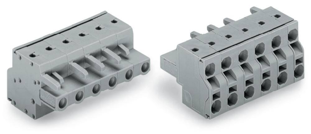 Tilslutningskabinet-kabel 231 Samlet antal poler 11 WAGO 231-2211/026-000 Rastermål: 7.50 mm 25 stk