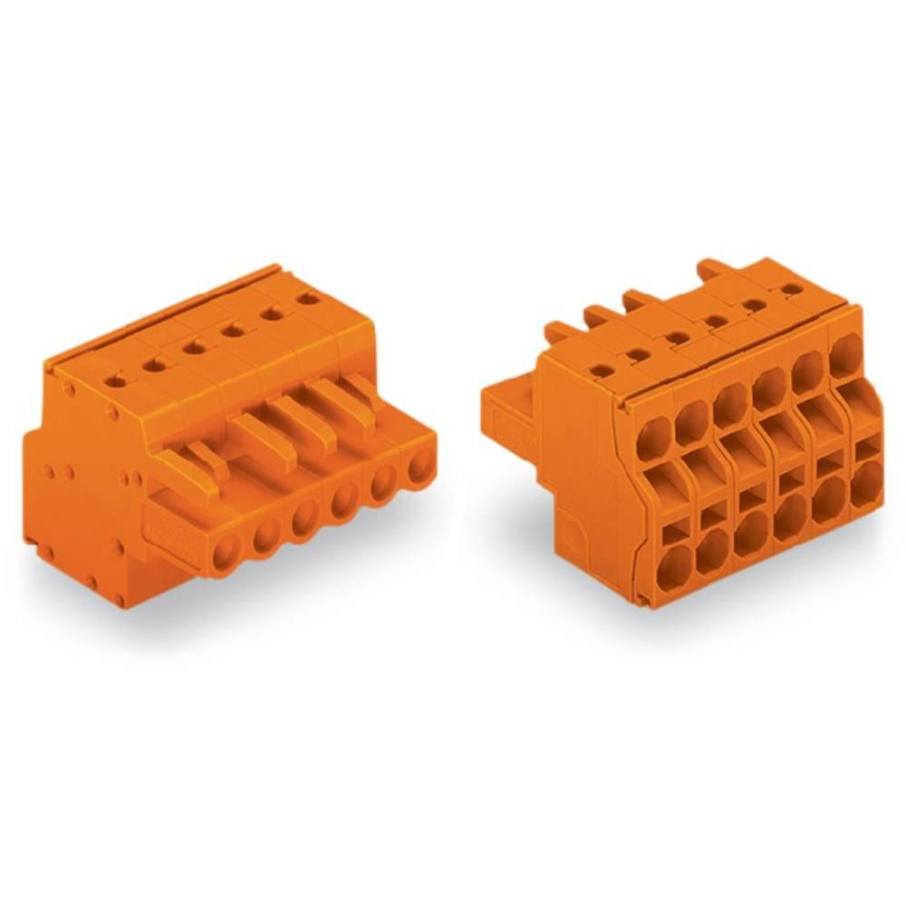 Tilslutningskabinet-kabel 231 Samlet antal poler 16 WAGO 231-2316/026-000 Rastermål: 5.08 mm 25 stk