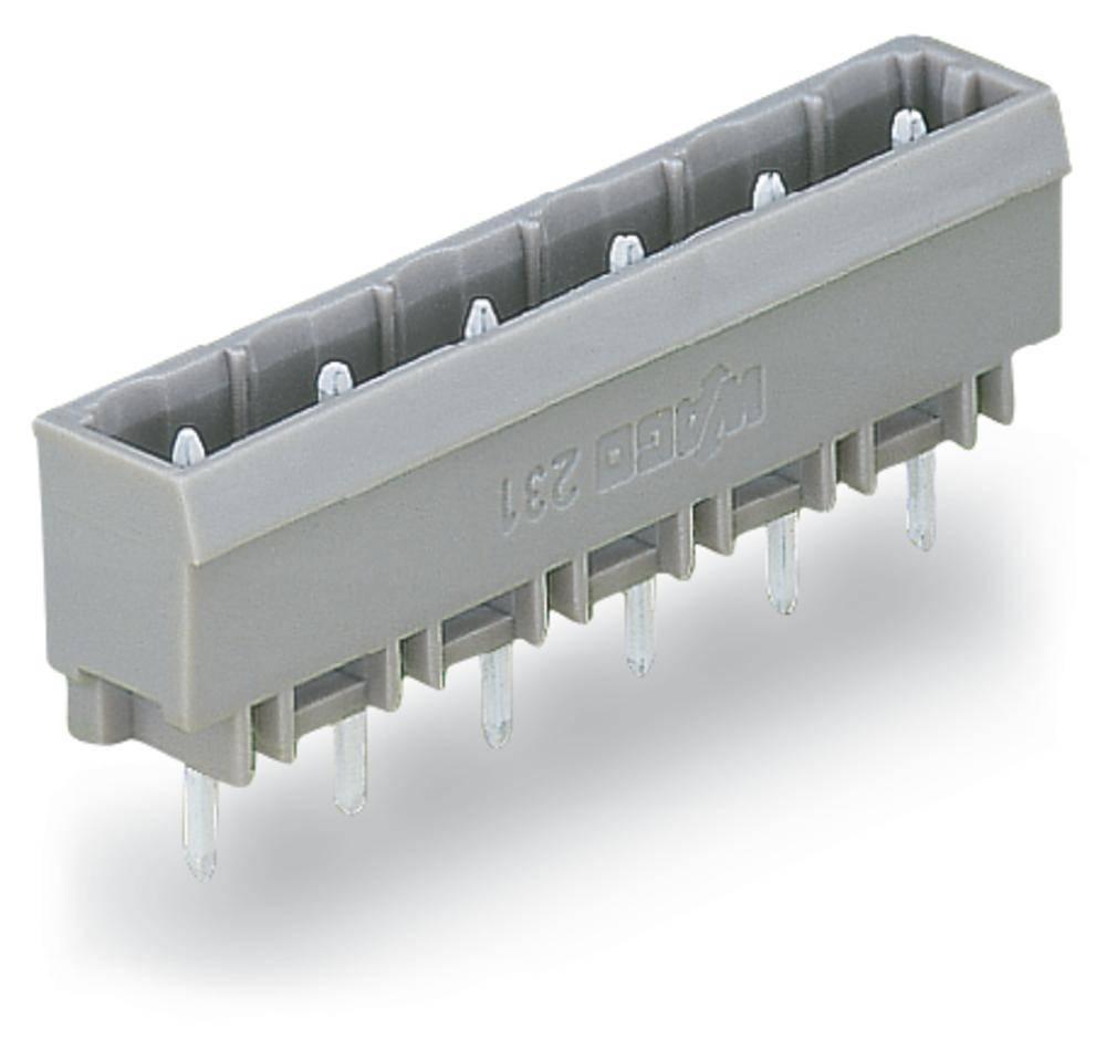 Pinski konektor (Standard) 300 št. polov skupaj 2 WAGO 231-262/001-000 mere: 7.50 mm 200 kosov