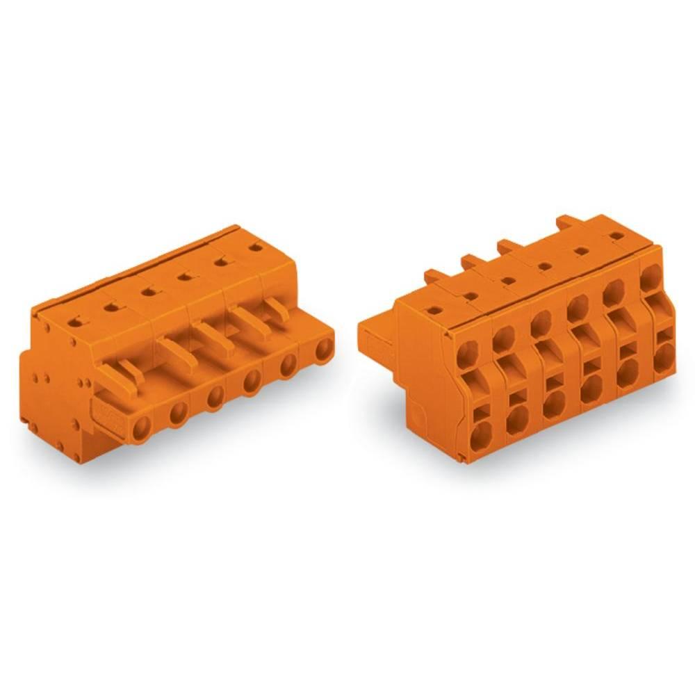 Tilslutningskabinet-kabel 231 Samlet antal poler 11 WAGO 231-2711/026-000 Rastermål: 7.62 mm 25 stk