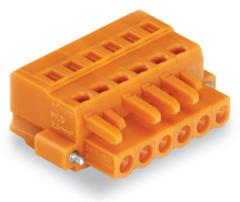 Tilslutningskabinet-kabel 231 Samlet antal poler 8 WAGO 231-308/107-000 Rastermål: 5.08 mm 50 stk