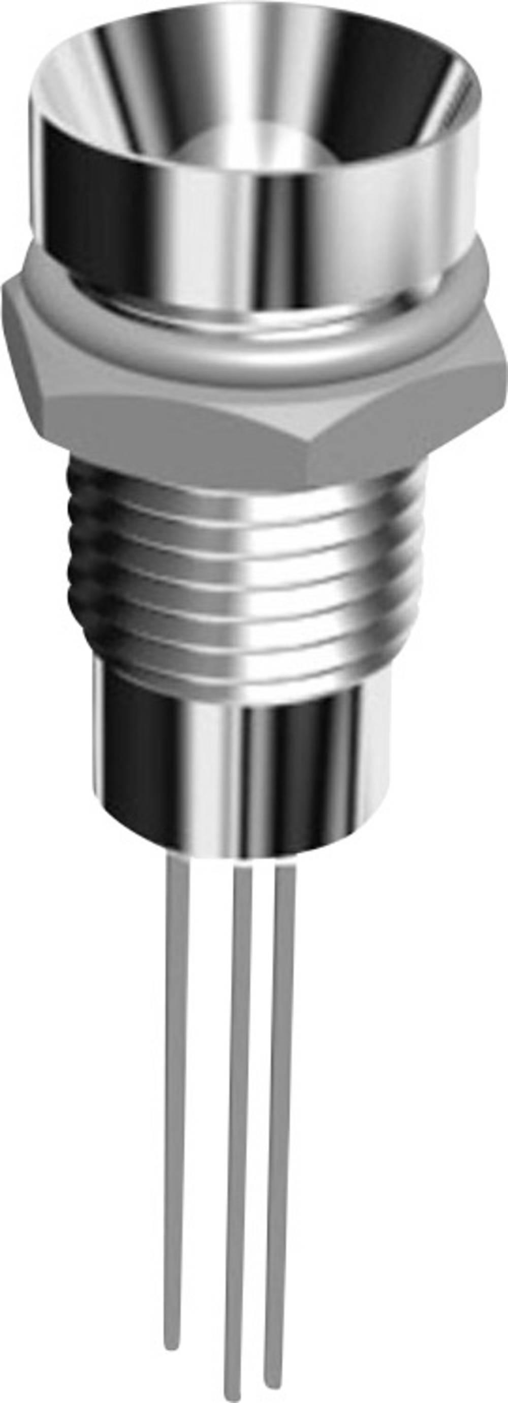 LED signalna lučka, večbarvna, rdeča, zelena 1.8 V, 2.2 V 30 mA Signal Construct SEMZ 082 RT/GR